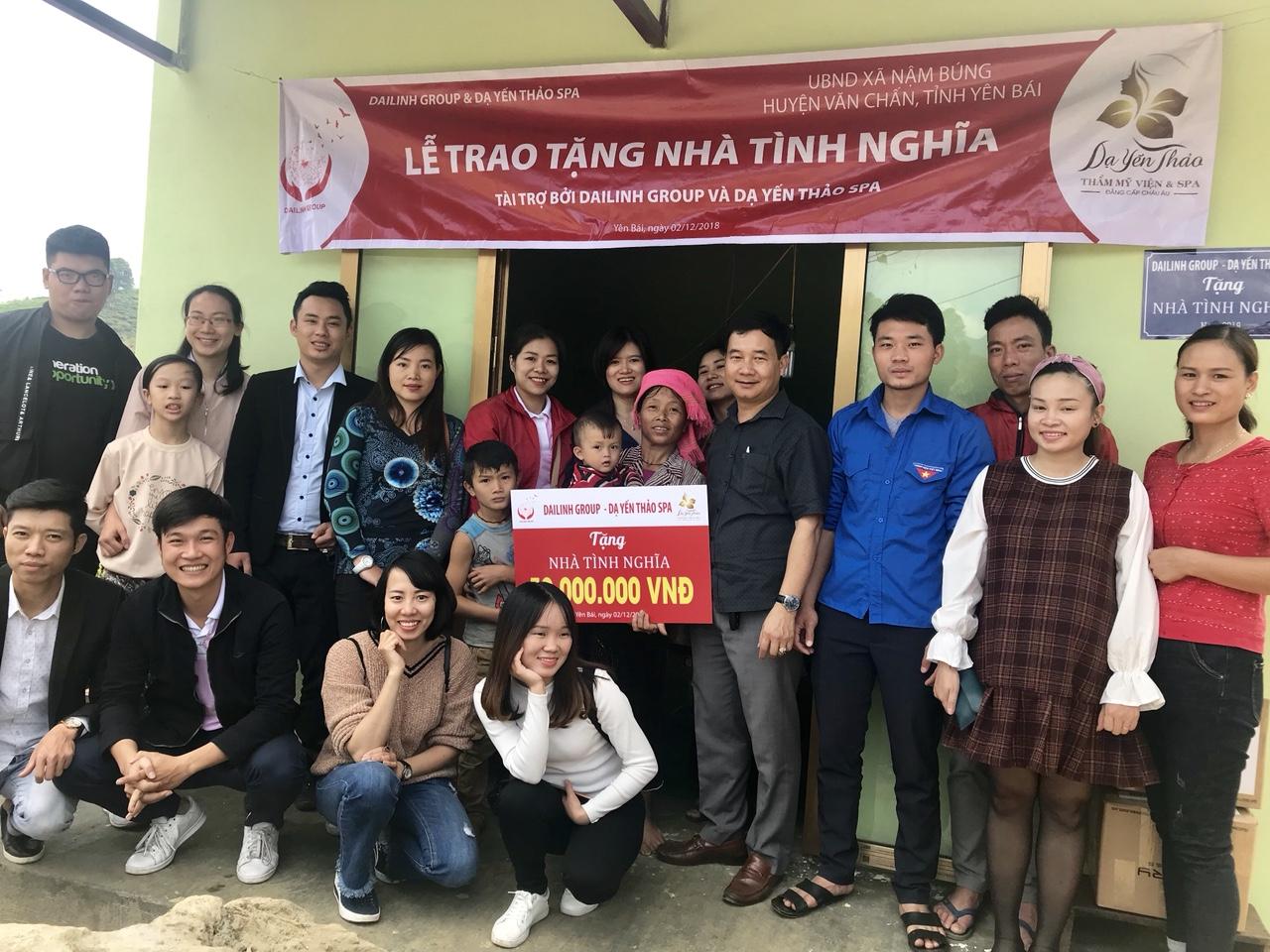 DaiLinh Group bàn giao nhà tình nghĩa cho hộ nghèo tại tỉnh Yên Bái 2