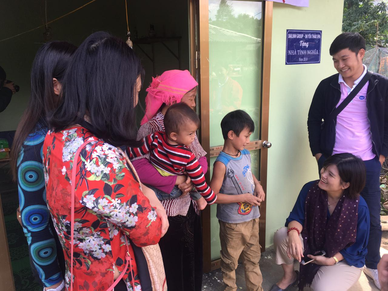 DaiLinh Group bàn giao nhà tình nghĩa cho hộ nghèo tại tỉnh Yên Bái 4