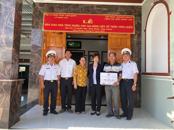 Lễ bàn giao nhà đồng đội cho gia đình liệt sĩ Trần Thừa Kiên 2