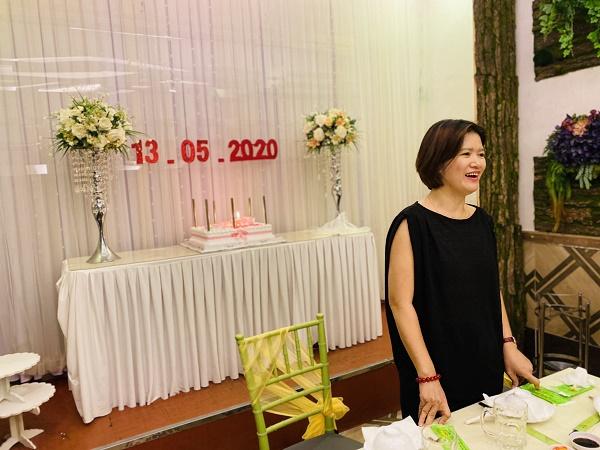 Chiếc bánh sinh nhật chúc mừng Đài Linh Group 18 tuổi của CBNV Đà Nẵng 3