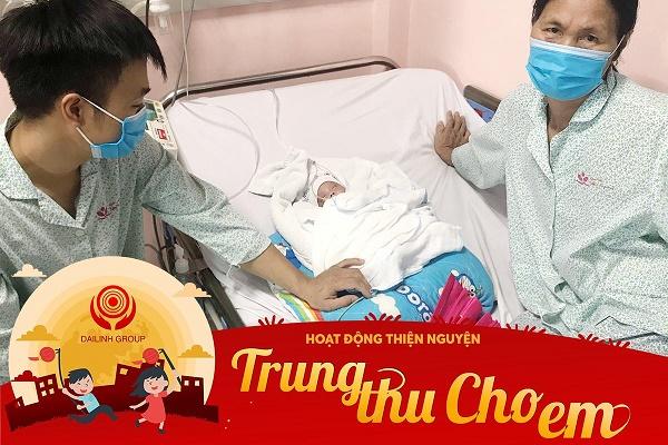 """DaiLinh Group – Chuyến thiện nguyện """"Trung Thu Cho Em 2020"""" tại bệnh viện nhi TW 1"""