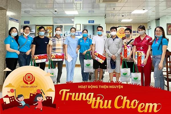 """DaiLinh Group – Chuyến thiện nguyện """"Trung Thu Cho Em 2020"""" tại bệnh viện nhi TW 3"""