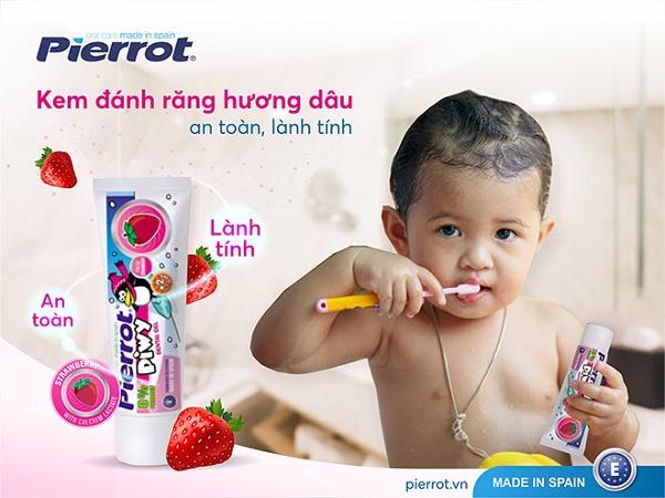 [24H] Nên hay không việc cho trẻ sử dụng kem đánh răng chứa Fluor