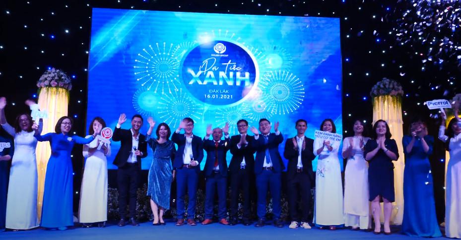 DẠ TIỆC XANH – Hội nghị tri ân khách hàng NPP 3 miền Bắc – Trung – Nam