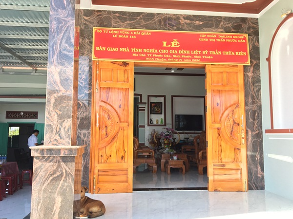Đài Linh Group và Lữ đoàn 146 chung tay xây dựng nhà đồng đội trao tặng gia đình liệt sĩ Trần Thừa Kiên